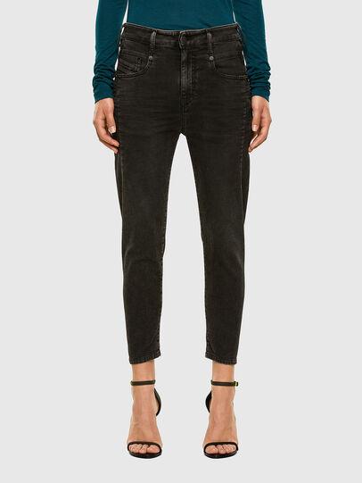 Diesel - Fayza JoggJeans 009HM, Black/Dark grey - Jeans - Image 1