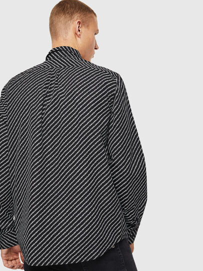 Diesel - S-PENN-COPY, Black - Shirts - Image 2