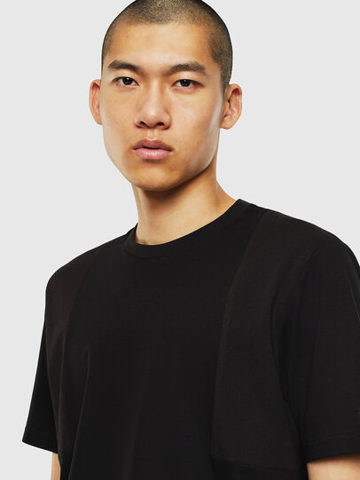Diesel - T-TOMI, Black - T-Shirts - Image 3
