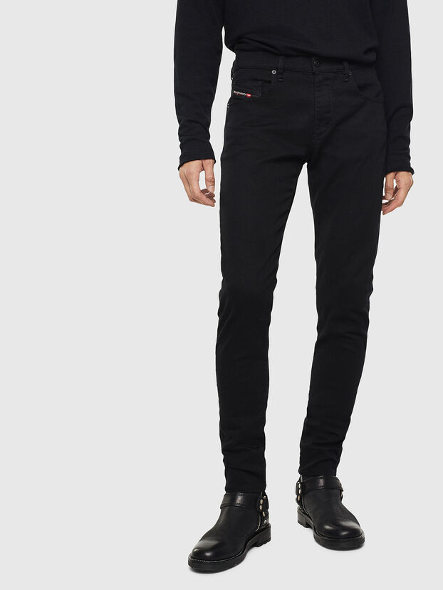 D-Strukt 069JB, Black/Dark grey - Jeans