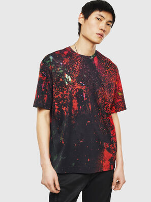TEORIALE-D, Black/Red - T-Shirts