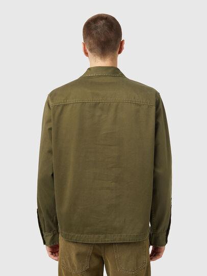 Diesel - J-FULLER, Military Green - Jackets - Image 2