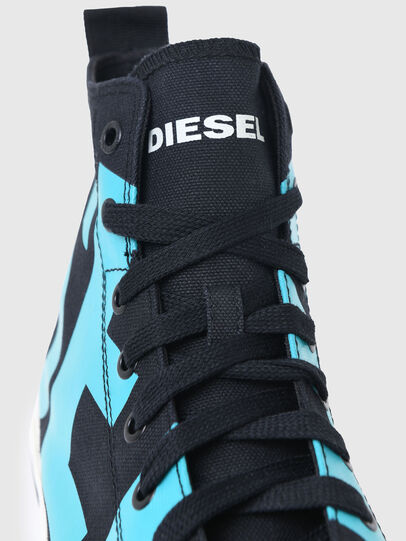 Diesel - S-ASTICO MID CUT, Black/Blue - Sneakers - Image 4