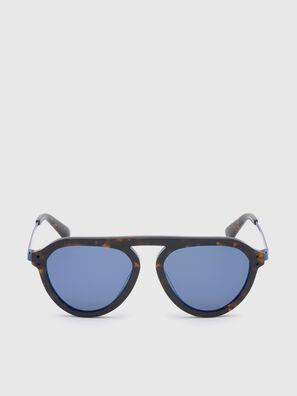 DL0277, Dark Brown - Sunglasses
