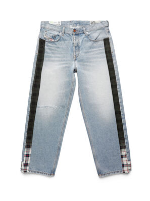 D-DEEPCHECKDENIM, Light Blue - Pants