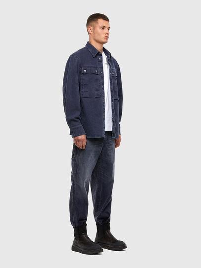 Diesel - D-Franky 009IY, Dark Blue - Jeans - Image 6