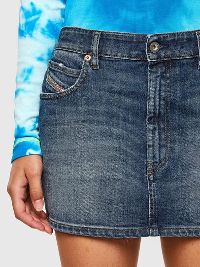 Diesel - DE-EISY, Dark Blue - Skirts - Image 3