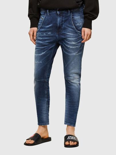 Diesel - Fayza JoggJeans® 0096M, Dark Blue - Jeans - Image 1