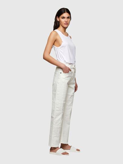 Diesel - D-Reggy 009UL, White - Jeans - Image 3