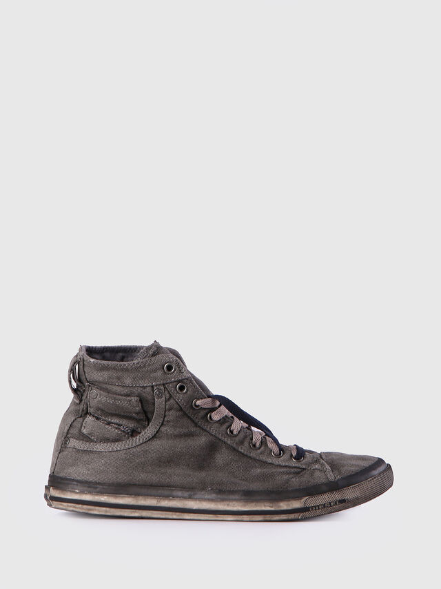 Diesel EXPOSURE I, Metal Grey - Sneakers - Image 1