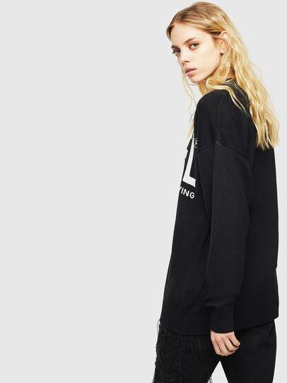 Diesel - K-LOGOS, Black - Knitwear - Image 4