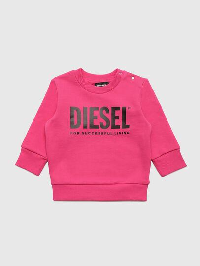 Diesel - SCREWDIVISION-LOGOB, Pink - Sweaters - Image 1