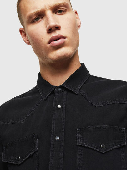 Diesel - D-EAST-P,  - Denim Shirts - Image 3