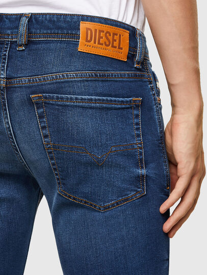 Diesel - Sleenker 009LX, Light Blue - Jeans - Image 4