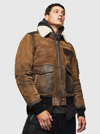 Diesel - L-OIUKIRO,  - Leather jackets - Image 1
