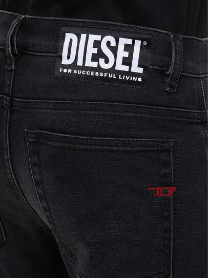 Diesel - D-Amny 009KS, Black/Dark grey - Jeans - Image 5