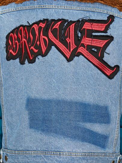 Diesel - W-HEROESY, Blue/Brown - Winter Jackets - Image 6