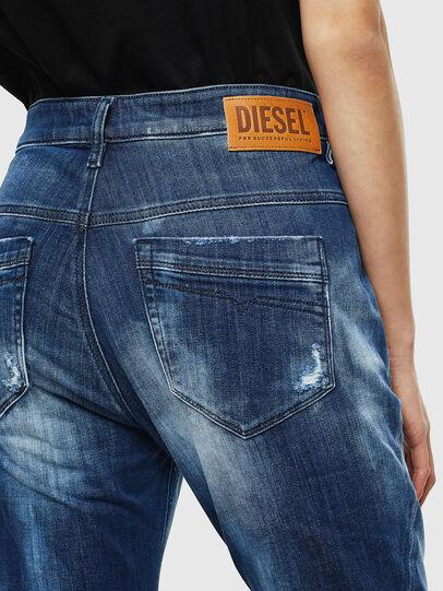 Diesel - Fayza JoggJeans 0099S, Dark Blue - Jeans - Image 5