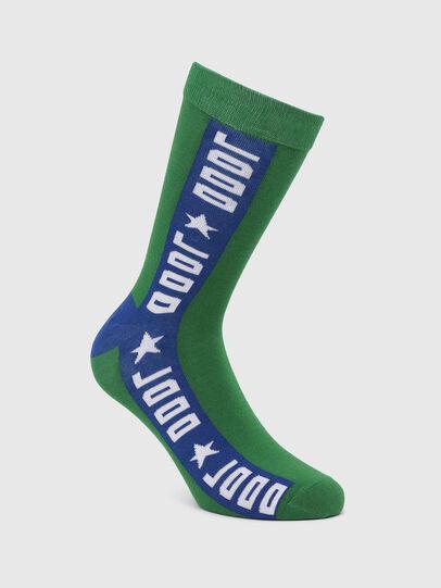 Diesel - SKM-RAY, Green - Socks - Image 1