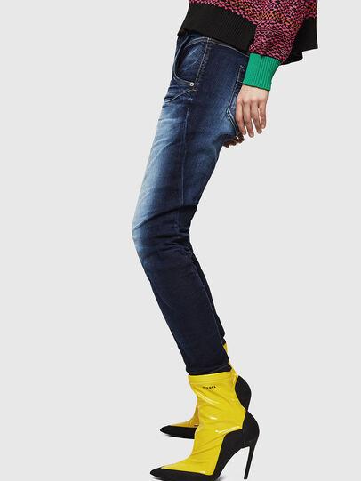Diesel - Fayza JoggJeans 069IE, Dark Blue - Jeans - Image 5