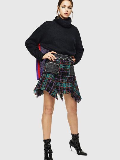 Diesel - M-PERSIA, Black - Knitwear - Image 6