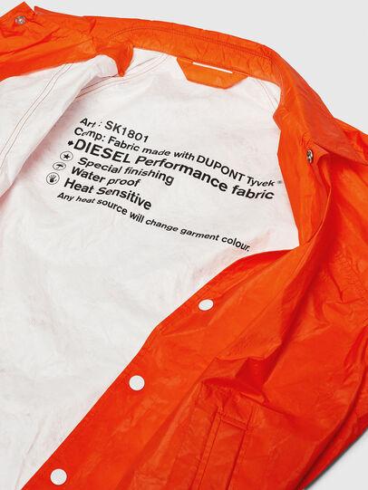 Diesel - J-AKINATOR-TVK, Orange - Jackets - Image 7