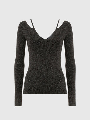 M-AMBER, Black - Knitwear