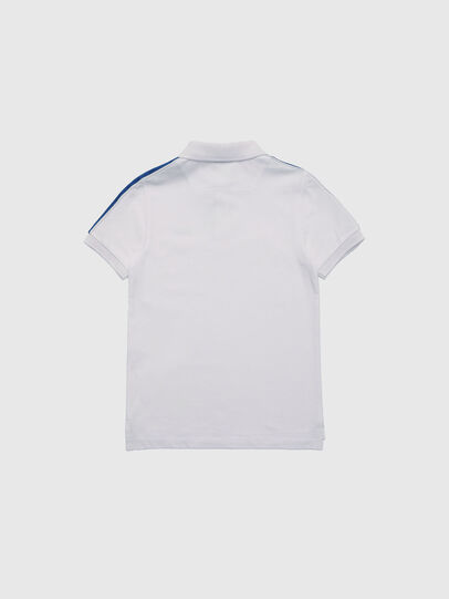 Diesel - TRALFYS1, White/Blue - T-shirts and Tops - Image 2