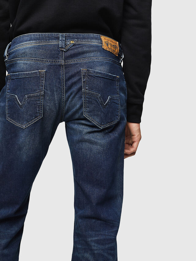 Diesel Larkee 0853R, Dark Blue - Jeans - Image 4