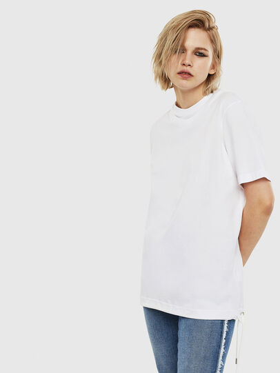Diesel - T-HUSTY, White - T-Shirts - Image 3