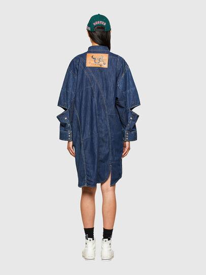 Diesel - CL-DE-BLIV, Dark Blue - Dresses - Image 2