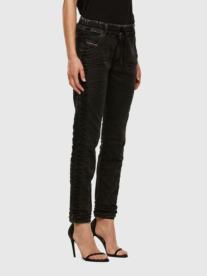 Diesel - Krailey JoggJeans 009FY, Black/Dark grey - Jeans - Image 5
