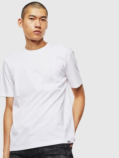 Diesel - T-TOMI, White - T-Shirts - Image 1