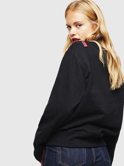 Diesel - CC-S-BAY-COLA, Black - Sweaters - Image 4