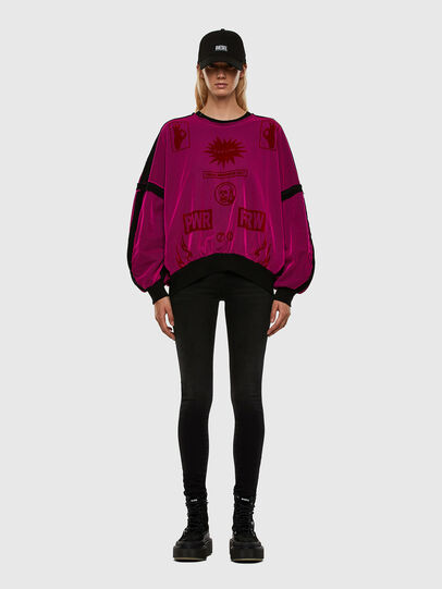 Diesel - F-TRULY, Hot pink - Sweaters - Image 6
