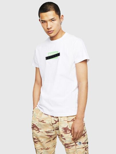 Diesel - T-DIEGO-S7, White - T-Shirts - Image 1
