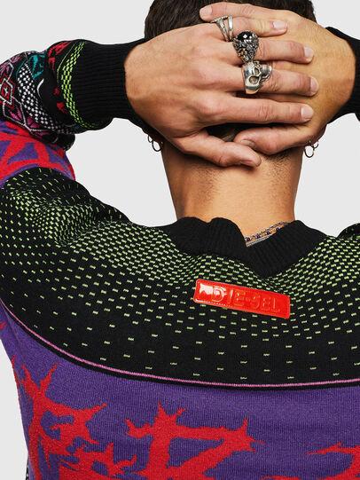 Diesel - K-CHILL, Multicolor/Black - Knitwear - Image 5