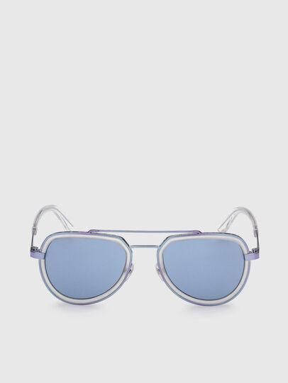 Diesel - DL0266, Blue - Sunglasses - Image 1