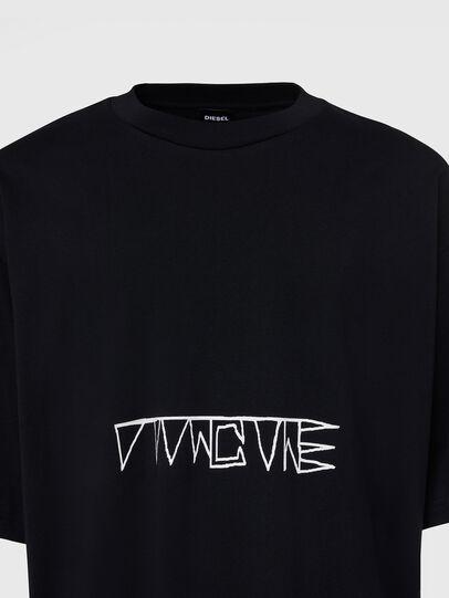 Diesel - T-BALL-X1, Black - T-Shirts - Image 3