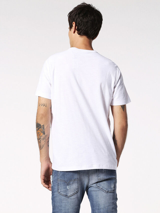 Diesel - T-TERRENCE, White - T-Shirts - Image 2