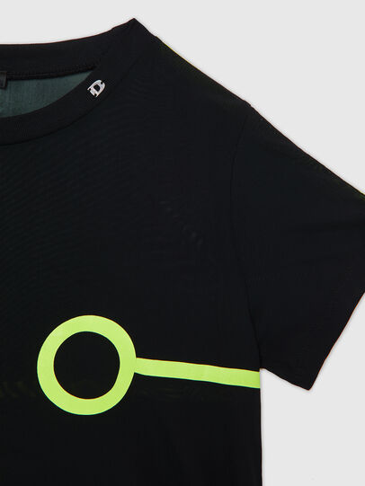 Diesel - UFTEE-ROUNDFEM-M, Black - T-Shirts - Image 3