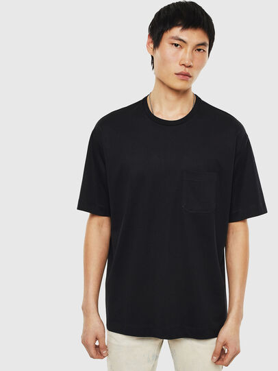 Diesel - T-TIGE, Black - T-Shirts - Image 1