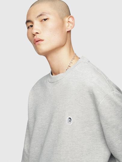 Diesel - S-LINK, Light Grey - Sweaters - Image 5