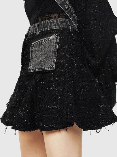 Diesel - O-NYELA, Black - Skirts - Image 3