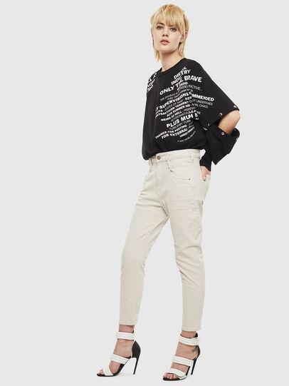 Diesel - Fayza 009BX, Dirty White - Jeans - Image 6