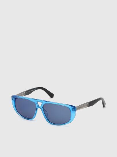 Diesel - DL0306, Blue/Black - Kid Eyewear - Image 2