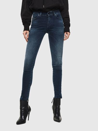 Diesel - Slandy 084UT, Dark Blue - Jeans - Image 1