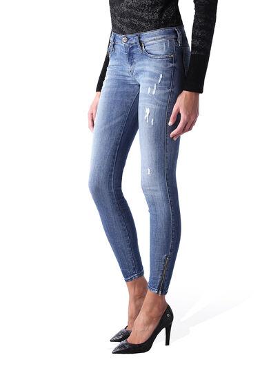 Diesel - Skinzee Low Zip 0847U,  - Jeans - Image 3