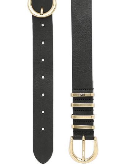 Diesel - B-STALLY, Black - Belts - Image 4