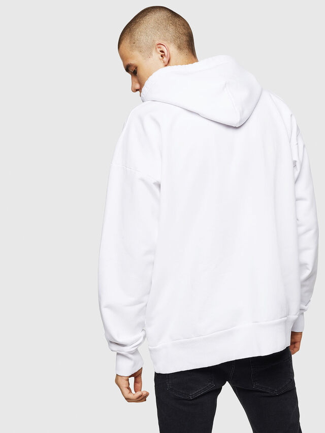 Diesel S-ALBY, White - Sweaters - Image 2